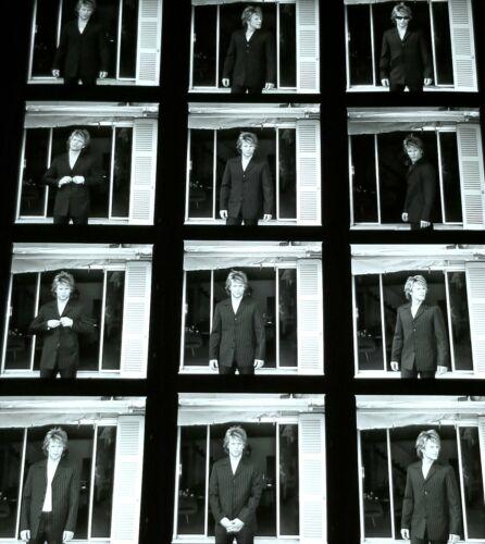 JON BON JOVI BLACK & WHITE CONTACT SHEET PROOF PHOTO BW ROCK HAIR METAL MUSIC OG