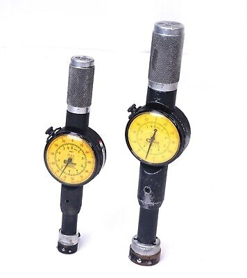 Standard Dorsey D1-20241 Dial Bore Gage No. 2 And No. 3 Set .0001 Metric Sae
