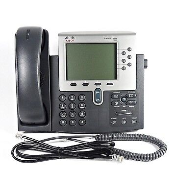 Cisco 7961g Unified Ip Phone Voip Phone Poe Business Telephone Cp-7961g