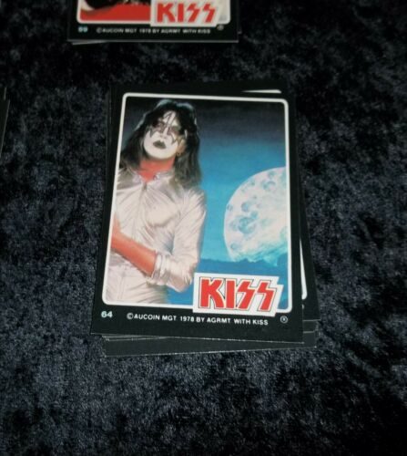 KISS ROCK STARS PHOTO CARDS DONRUSS 1979 SPACE ACE FREHLEY #64 CARD (NM) MINT