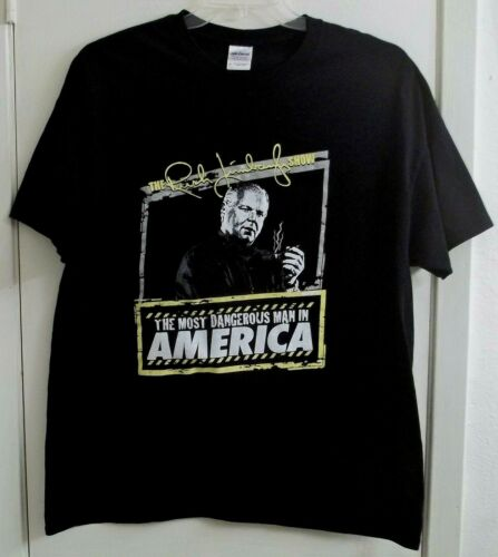 The Rush Limbaugh Show T-Shirt Adult XL X-Large Most Dangerous Man In America