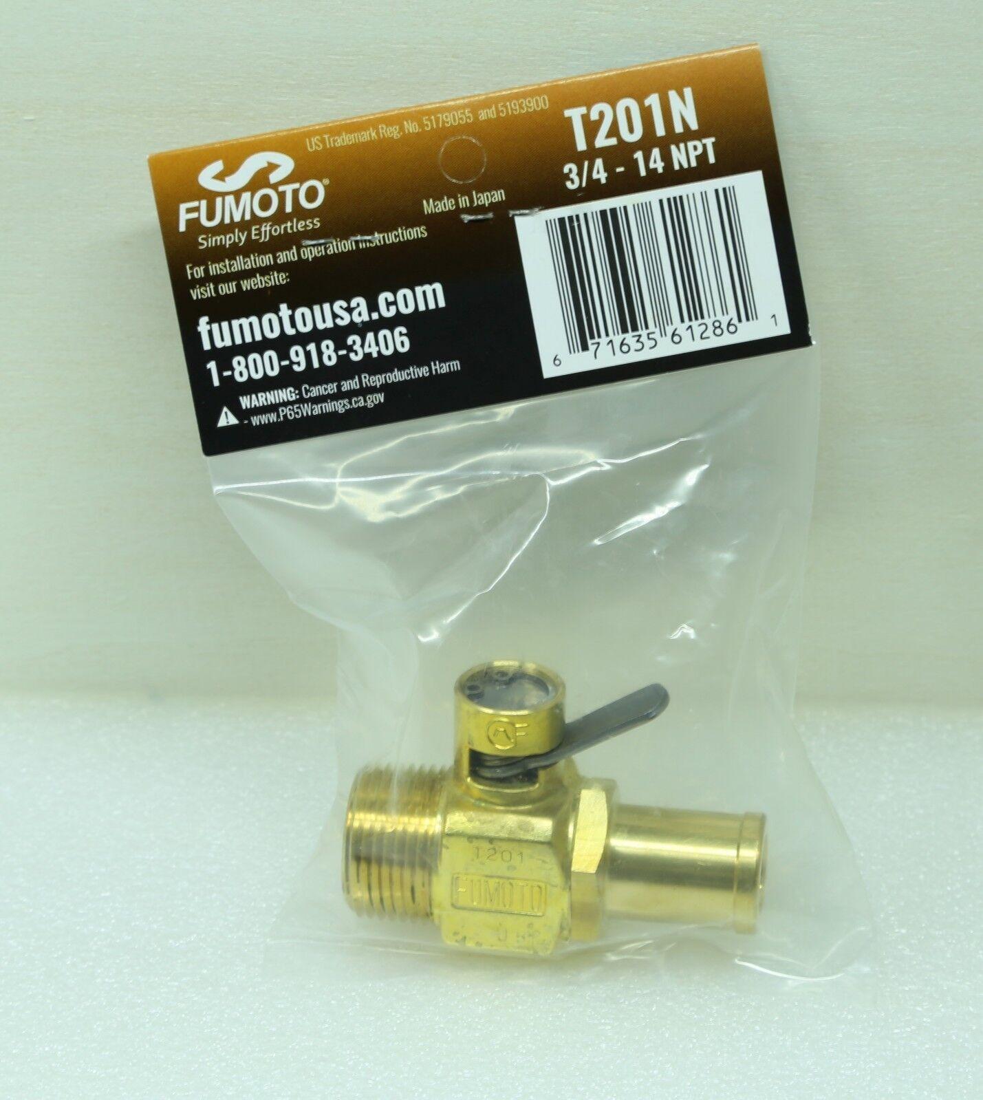 Fumoto ADP-201 Adapter for T201 Oil Drain Valve 3//4-14 NPT