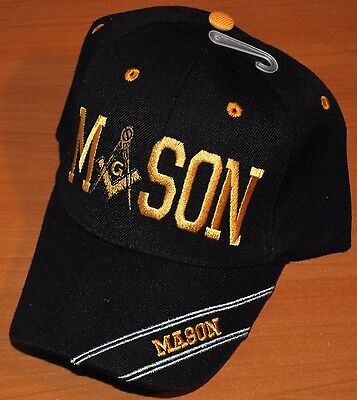 Black Blue Camouflage Mason Masonic Freemason Masonry Lodge Hat Cap Freemasonry