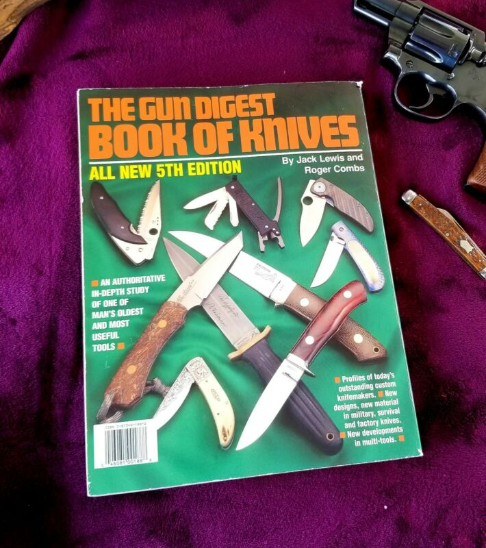 "Vintage 1997 ""THE GUN DIGEST BOOK OF KNIVES"" 5TH EDITION JACK LEWIS, ROGER COMBS"