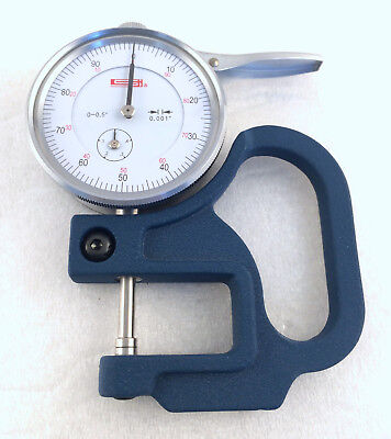 Spi Thickness Gauge Measuring Dial .001 0-0.5 Swiss Precision Instruments