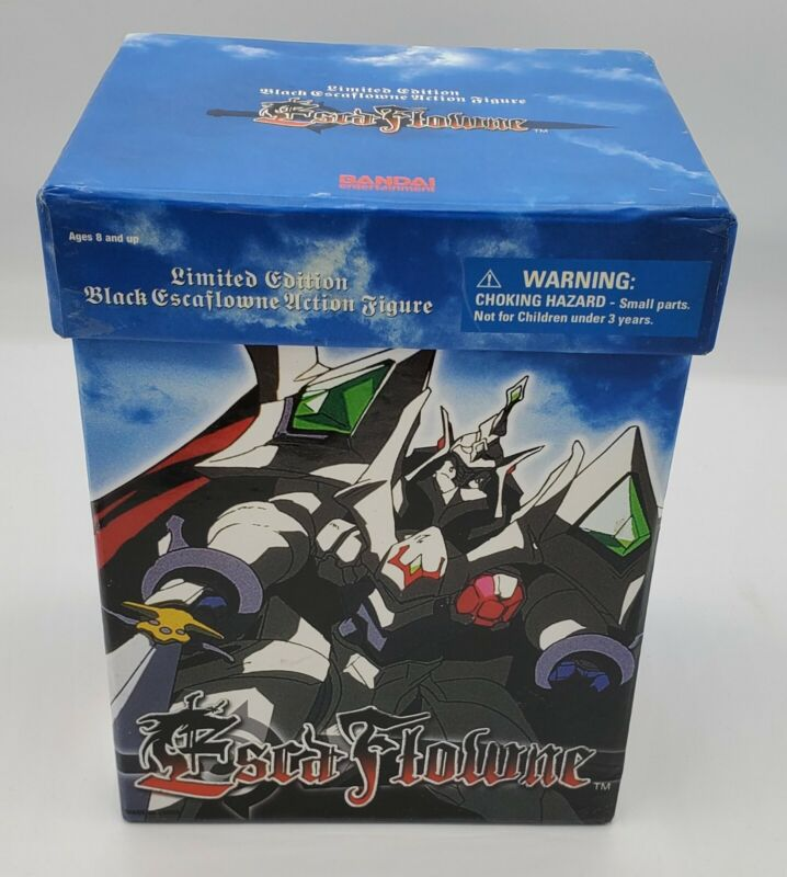 Bandai BLACK KNIGHT ESCAFLOWNE Action Figure (Limited Edition) 2002