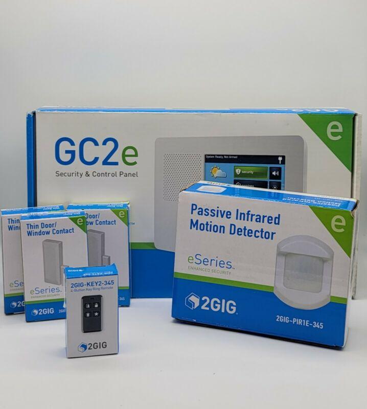 2GIG GC2e Encrypted Security Alarm & Control Panel 2GIG-GC2E-345  KIT
