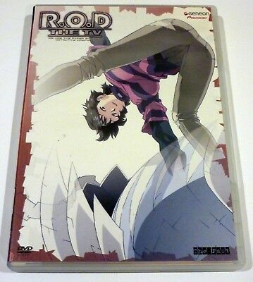 Read or Die R.O.D. the TV Series - Vol. 3: The Past (DVD, 2004) Paper Sisters