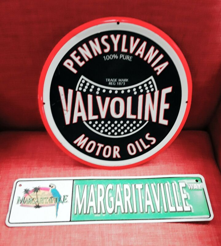Pennsylvania  Valvoline Retro Repro - Sanitized & Decorative