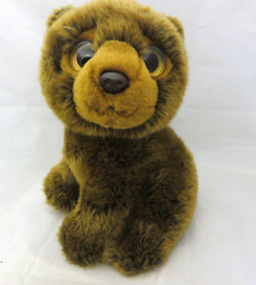 TY Beanie boo WILD WILD BEST  YUKON the BROWN BEAR 10 inch no hang tag