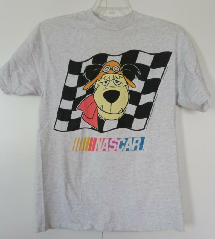 Vintage 1994 Muttley Wacky Races Nascar Shirt Large Pre-Owned