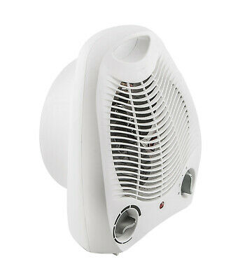 Calefactor electrico vertical. Ideal baño. 2 posiciones de calor 2000W ECONOMICO