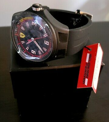 NWT FERRARI SCUDERIA  MEN'S WATCH 0830005