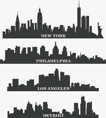 Laser Cut Dxf-cdr Files For Cnc Vector Dxf Plasma Router - Cities Buildings