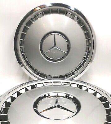 4x Original Mercedes Benz Radkappen W124 W140 S Klasse 16 Zoll 1404010024 111