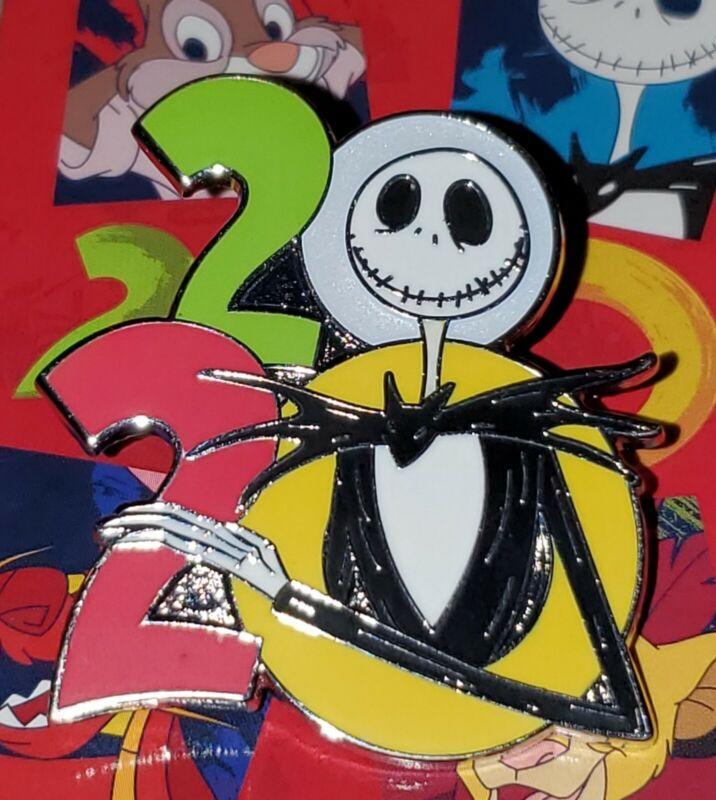 Disney Pin Jack Skellington 2020 Logo Pin Nightmare Before Christmas FREE SHIP