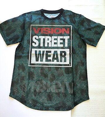 Vision Street Wear   Jersey Green  Leopard Print