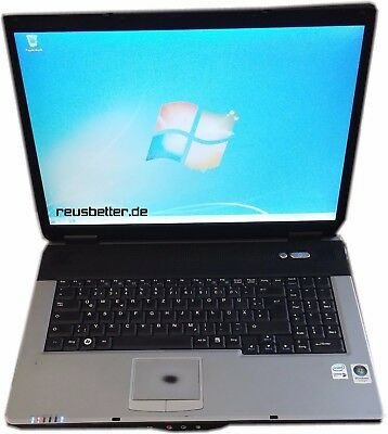 Medion MD 98100 Notebook | DualCore 2x 1.6GHz | 2GB RAM | 160GB HDD | 17