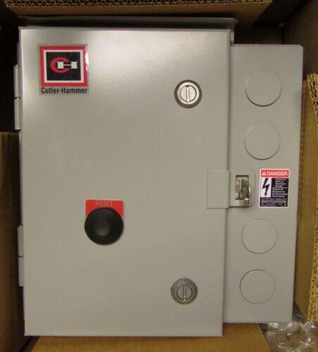 CUTLER HAMMER ECN0722CAA Size 2 110/120V Coil Control Enclosure AN16GN0 Starter