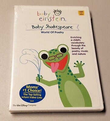 Baby Einstein: Baby Shakespeare (DVD, 2002) World Of Poetry