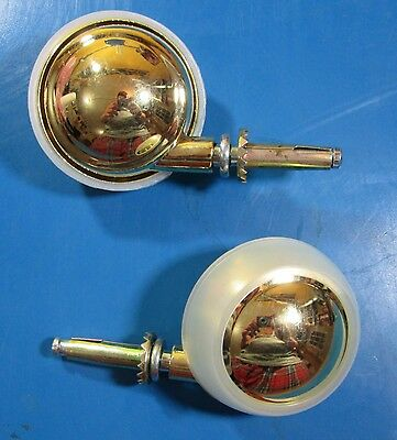 2- Metal Ball Stem Caster 216-8805 Pack Contains 2 Wheels
