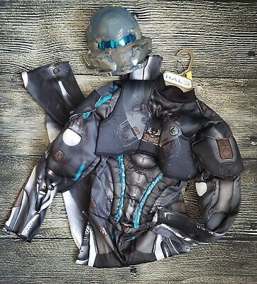 Baby Spartan Halloween Costume (HALO SPARTAN LOCKE COSTUME CHILD kids Large Halloween Muscle MICROSOFT)
