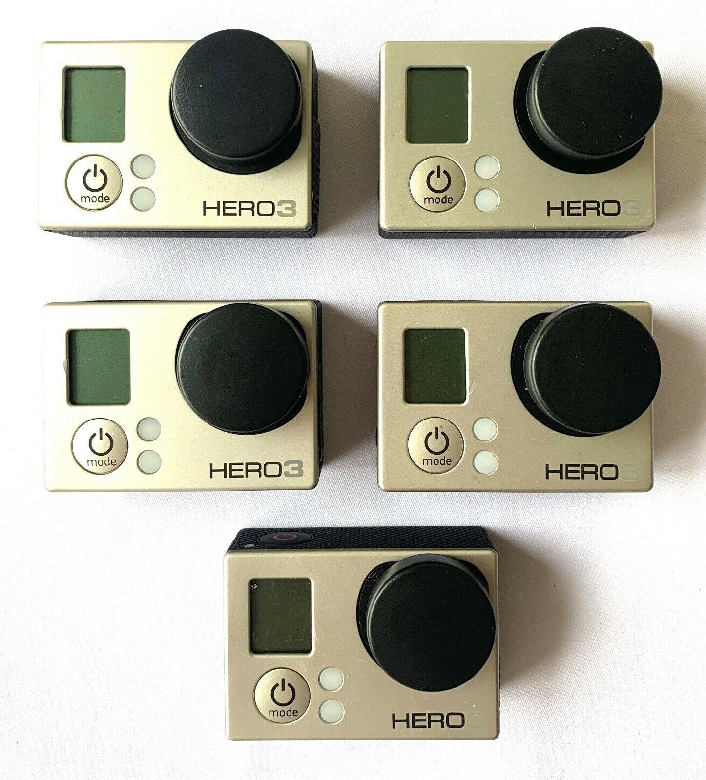 Bulk sale - Gopro Hero 3 Silver Edition Camera-Reseller 5 pack