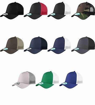- New Era 9Forty Trucker Snapback Mesh Back Hat / Cap NE205 BLANK 11 colors NEW!!!