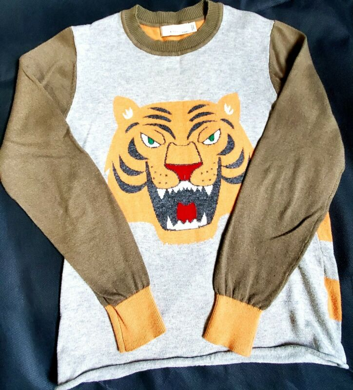Stella mccartney Tiger Sweater Sz 10