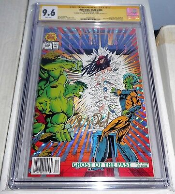 Incredible Hulk #400 CGC SS 9.6 Dual Signature Autograph STAN LEE & PETER DAVID