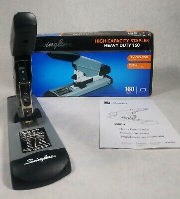 Swingline 39005 High Capacity Heavy Duty Stapler 160 Sheet Capacity Open Box
