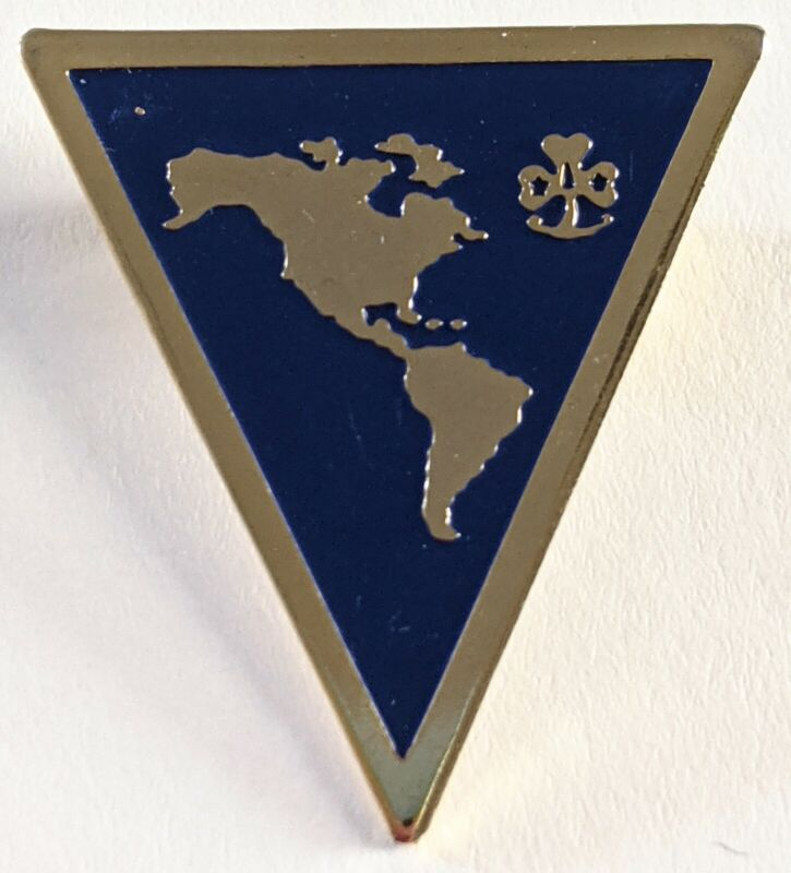 Girl Scouts of Western Hemisphere Pin WAGGGS Canada South America USA