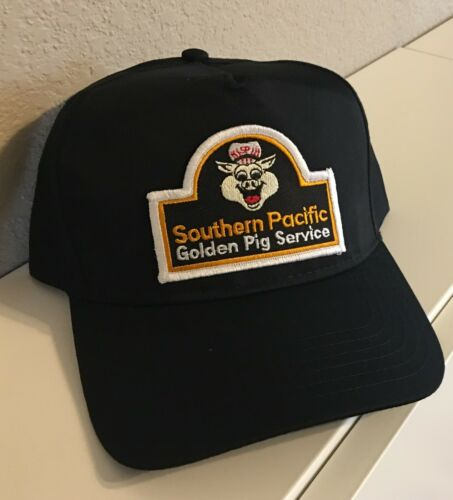 Cap / Hat - Southern Pacific Lines- Golden Pig Service (SP) - #22302 NEW