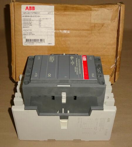 ABB A185W-20-01E-85 Welding Contactor A185W2001E84 2 Pole Coil 120VAC NEW