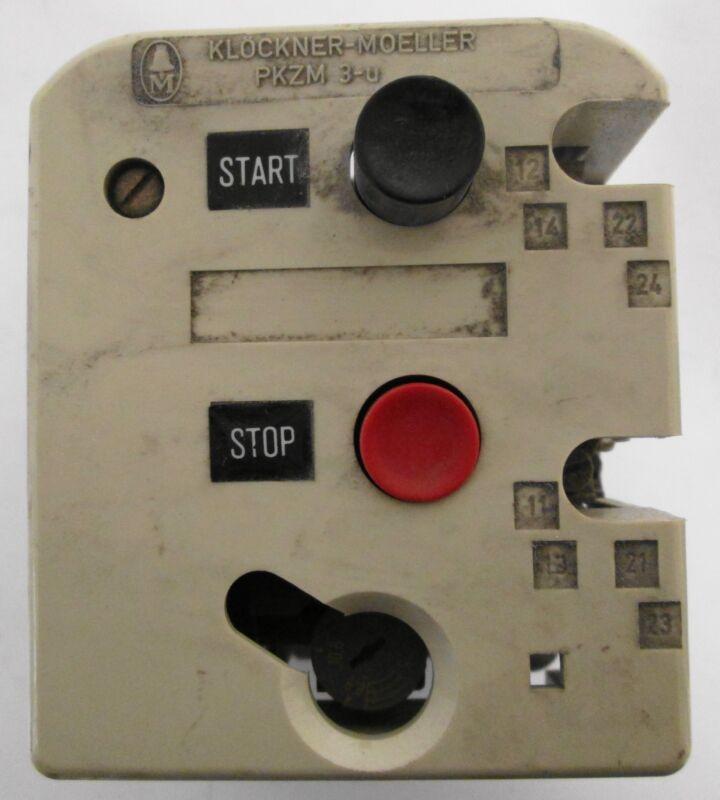Klockner-Moeller PKZM3-U PKZM3-10-U-NA Motor Starter