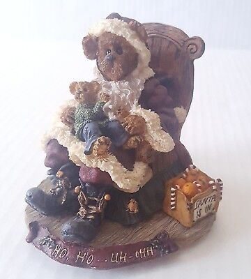 Boyds Bear Music Box Kris Kringle with Joey Santas Secret #270507 Christmas