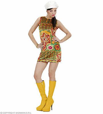 Kostüm 60er Jahre Kleid  - 60 ties - Sommerkleid Samt Minikleid