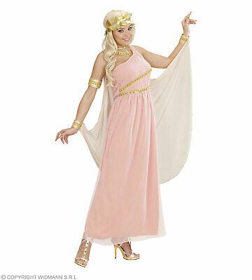 Aphrodite, Göttin Der Liebe (Kleid mit Umhang Und Armbändern - Kostüm
