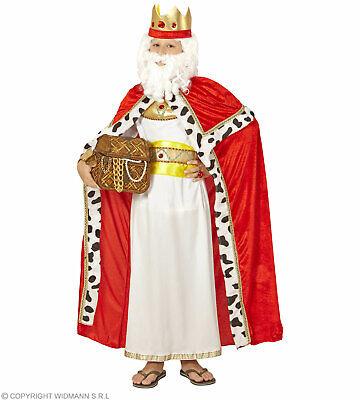 Königsumhang mit Krone - Biblischer König - Biblische Kostüme