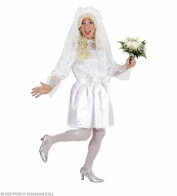 Männliche Braut Drag Queen XL - Travestie Kostüm Braut in XL