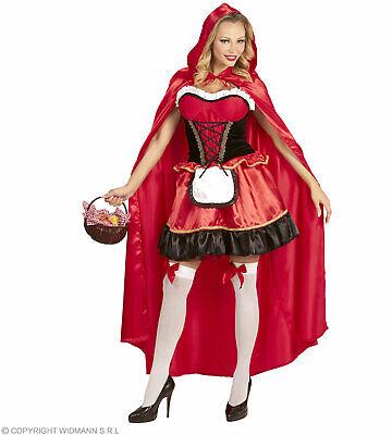 Rotes Käppchen (Kleid, Umhang mit Kapuze) - Kostüm