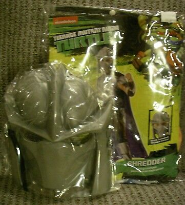 NEW Teenage Mutant Ninja Turtle Costume Child Medium 8 - 10 Rubies Shredder - Shredder Costumes