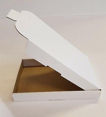 50 x WHITE C6 A6 BOX 112x163x20mm ROYALMAIL LARGE LETTER POSTAL CARDBOARD PIP