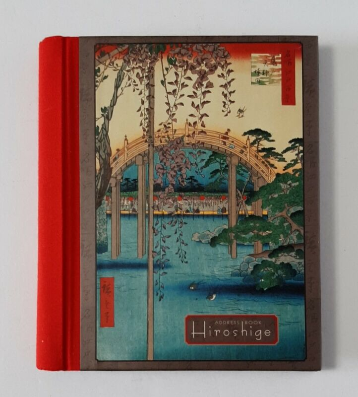 Hiroshige Japanese Art Luxury Address Book Brooklyn Museum Pomegranate Nice