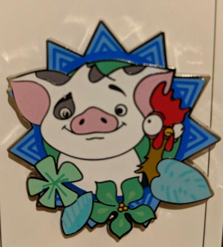 Disney 2019 Pua Pig With Hei Hei Rooster Pin Moana Pin