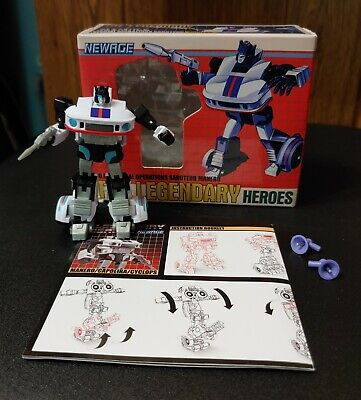 NEWAGE TRANSFORMERS LEGENDARY HEROES MANERO JAZZ COMPLETE