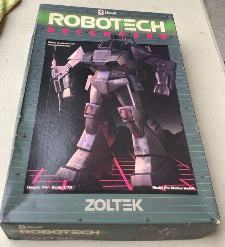 """Revell ROBOTECH Defenders ZOLTEK  7 3/4"""" Model Kit #1151 Vintage 1984"""