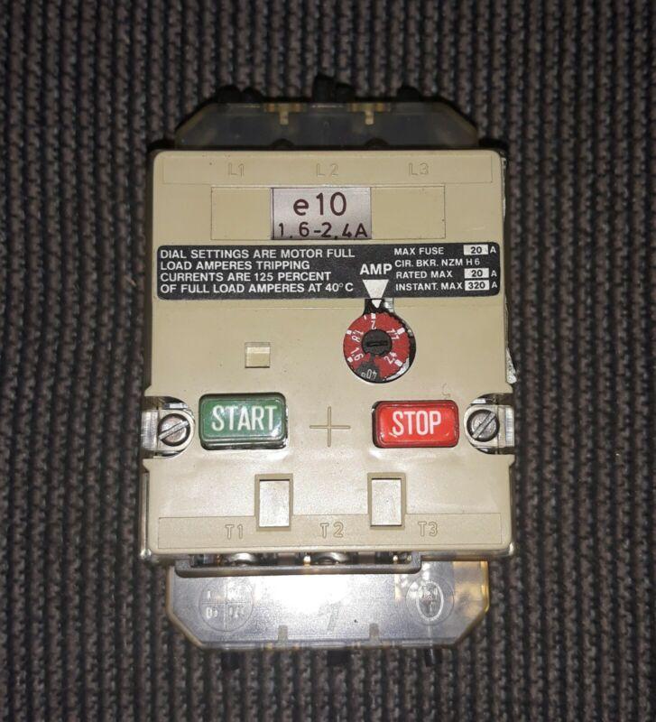 KLOCKNER-MOELLER  Motor Starter PKZM0-2,4-NA PKZM02,4NA USED