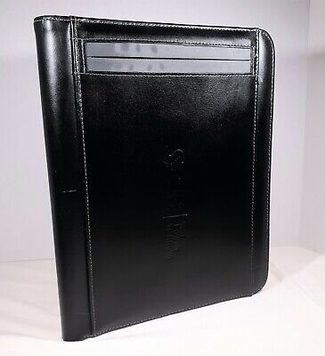 Sas Leeds Writing Pad 10 X 12 Black Portfolio Notepad Logo The Power To Know