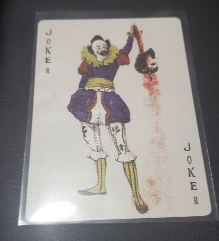 The Dark Knight Jokers Mob Calling Card! NEW from newly opened Promotional Deck!